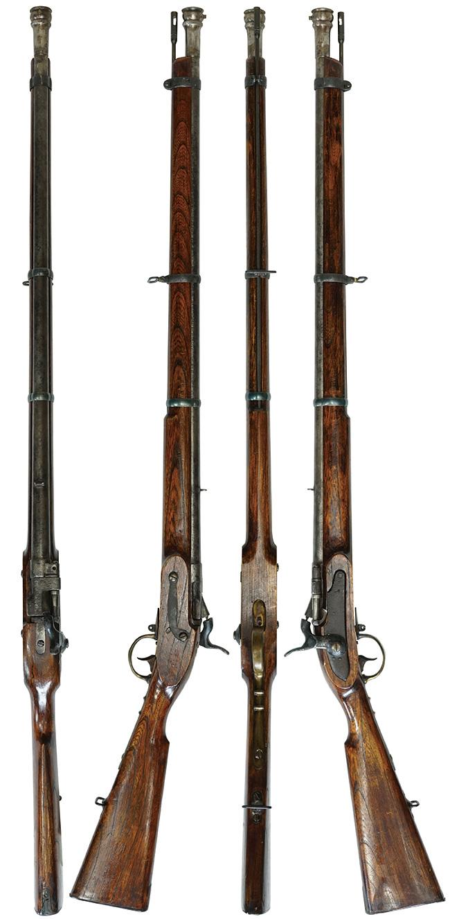 【6237】和製-スナイドル-エンフィールド-紙薬莢後装式小銃-(銃砲刀剣類登録証付古式銃、#無)右.jpg