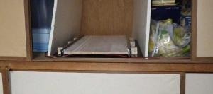 プロジェクター 棚起き スライドテーブル