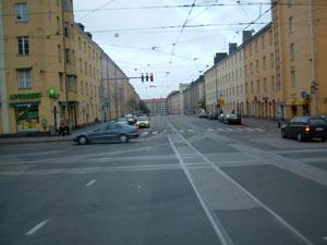 ヘルシンキ市内