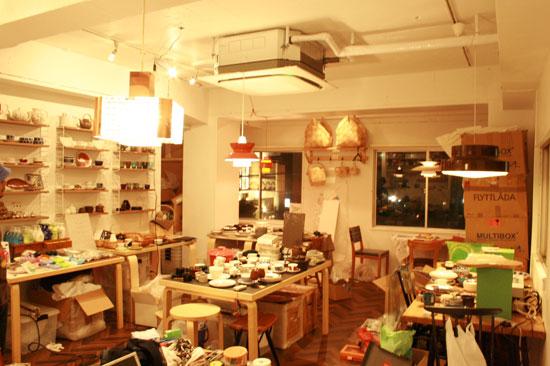 kaffe,antik MARKKA 店内