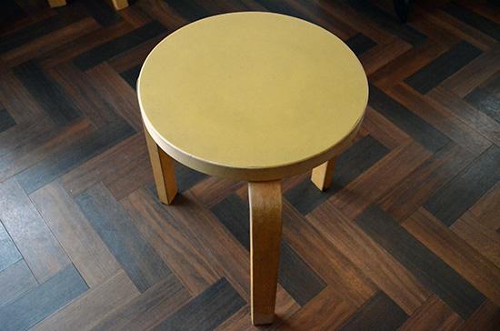 artek / Alvar Aalto [ Stool 60 ] vintege stool