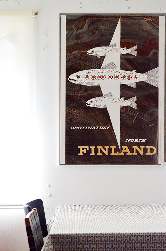 Finnair / Erik Bruun [ FINLAND ] poster