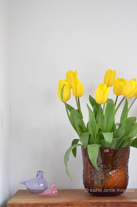 Nuutajarvi / Oiva Toikka [ Fauna ] flower vase