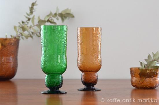 Nuutajarvi / Oiva Toikka [ Fauna ] Beer Glass