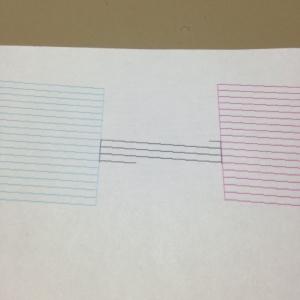 ノズルパターン印刷