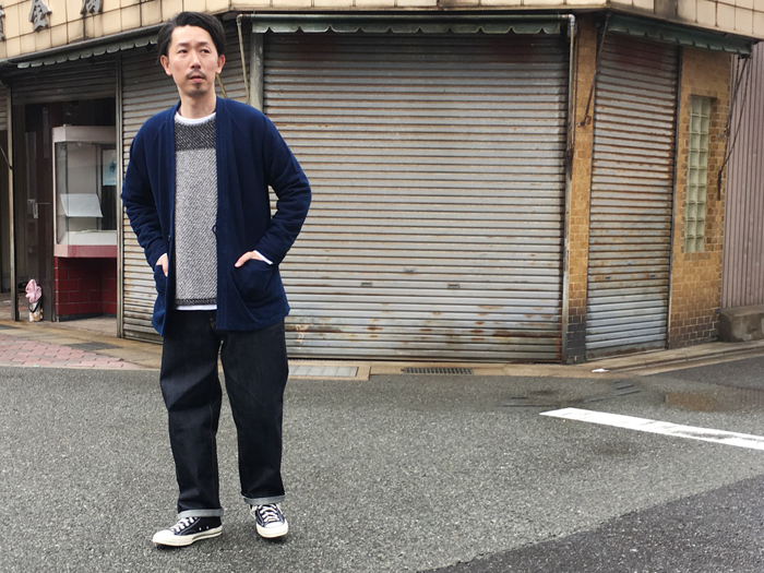 BLUE BLUE JAPAN/バンプインレー 1B ハオリ