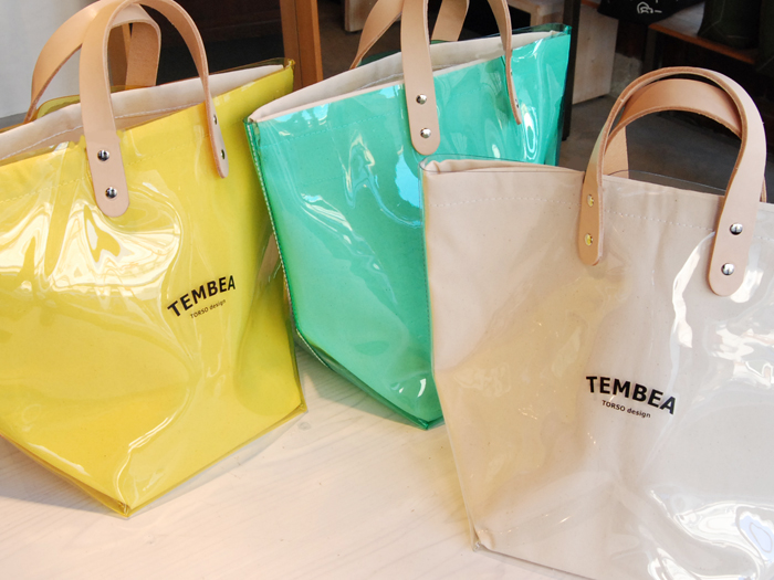 TEMBEA/DELIVERY TOTE 透明