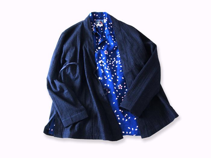 BLUE BLUE JAPAN/マイヤーレース KENDOジャケット