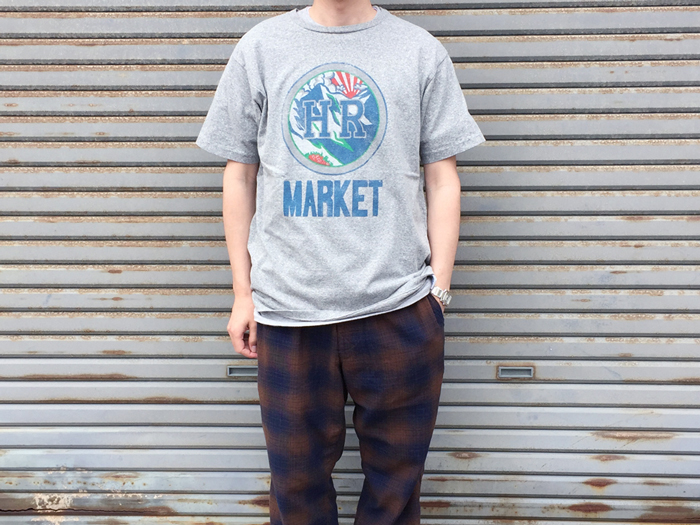 HOLLYWOOD RANCH MARKET/HR MOUNTAIN Tシャツ