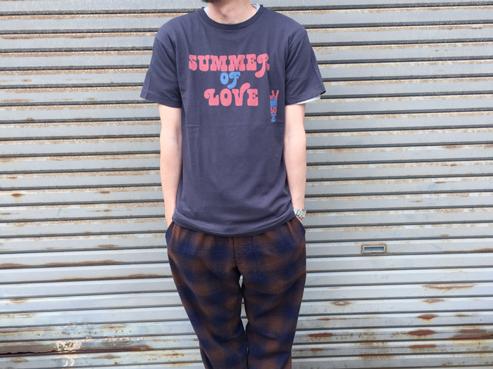 HOLLYWOOD RANCH MARKET/SUMMER OF LOVE PEACE Tシャツ