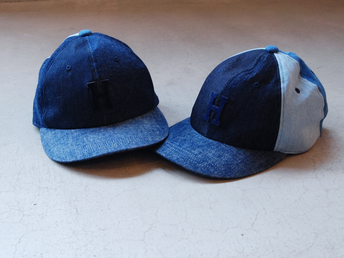 HOLLYWOOD RANCH MARKET/HRR DENIM PATCH BB CAP