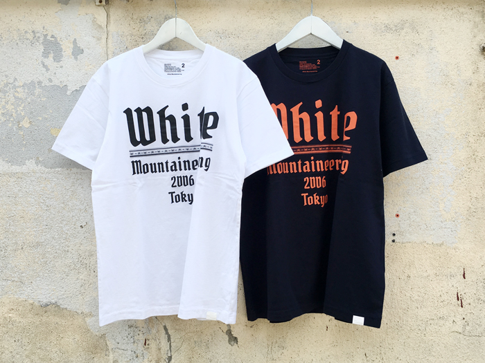 White Mountaineering/PRINTED T-SHIRT WHITE MOUNTAINEERING 2006TOKYO