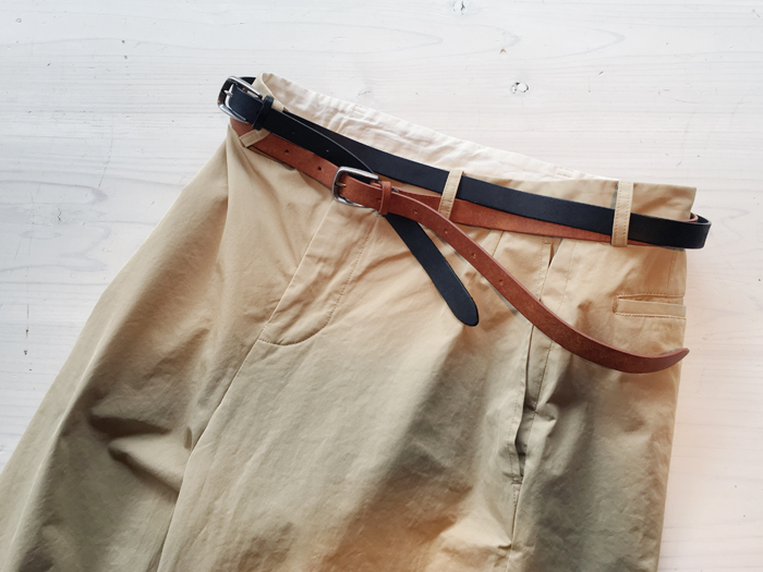 DIGAWEL/LEATHER BELT