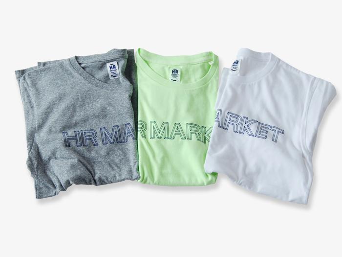 HOLLYWOOD RANCH MARKET/ソリッド HR MARKET ロゴTシャツ