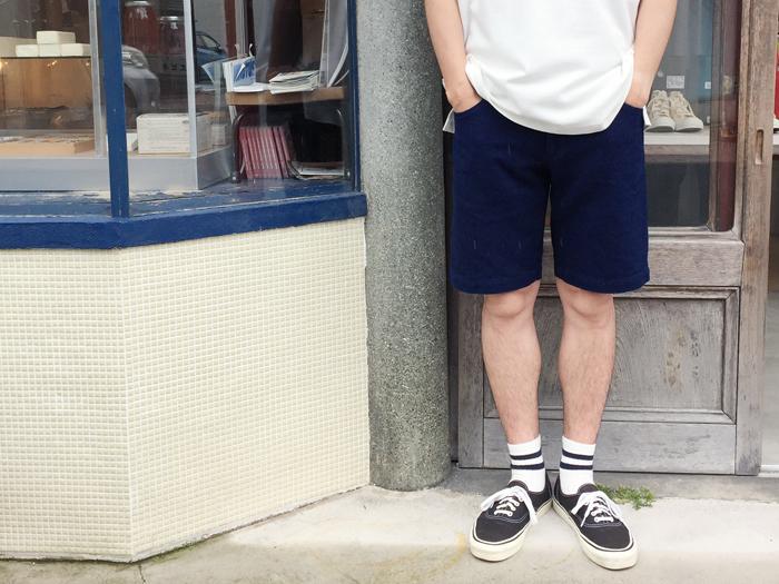 BLUE BLUE JAPAN/ホンアイサシコライトレングスショーツ