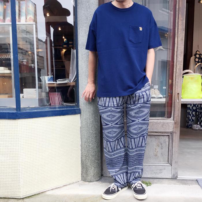 HOLLYWOOD RANCH MARKET/ジャーニーキャメル カノコビッグTシャツ