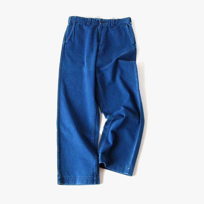 BLUE BLUE JAPAN/インディゴ41カーキ エンジニアパンツ
