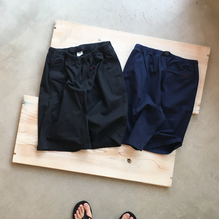 White Mountaineering/WM x Gramicci GARMENT DYED WIDE SHORTS