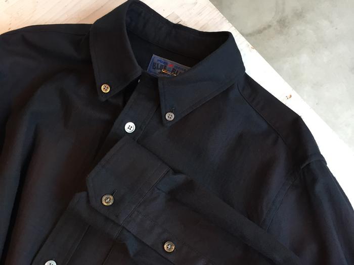 BLUE BLUE JAPAN/フランネル クラシカルチェック ボタンダウンシャツ