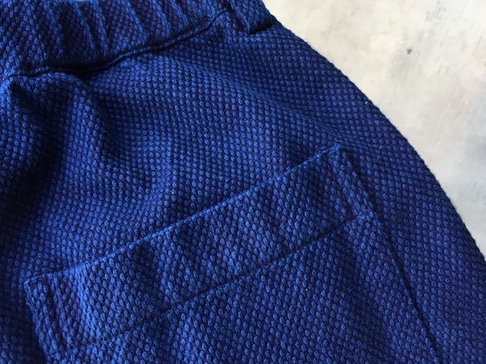 BLUE BLUE JAPAN/コツブサシコ リラックストラウザーズ