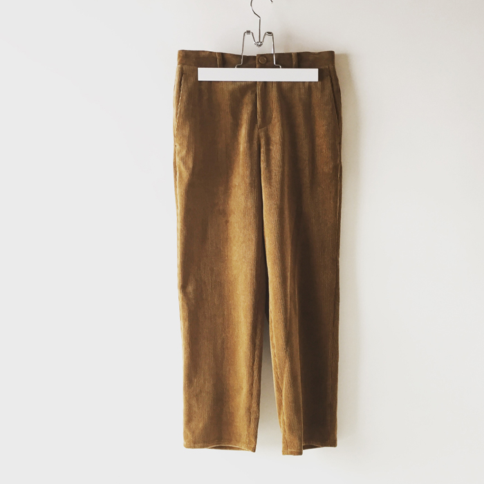 DIGAWEL(ディガウェル)/SLIM PANTS�(CORDUROY)