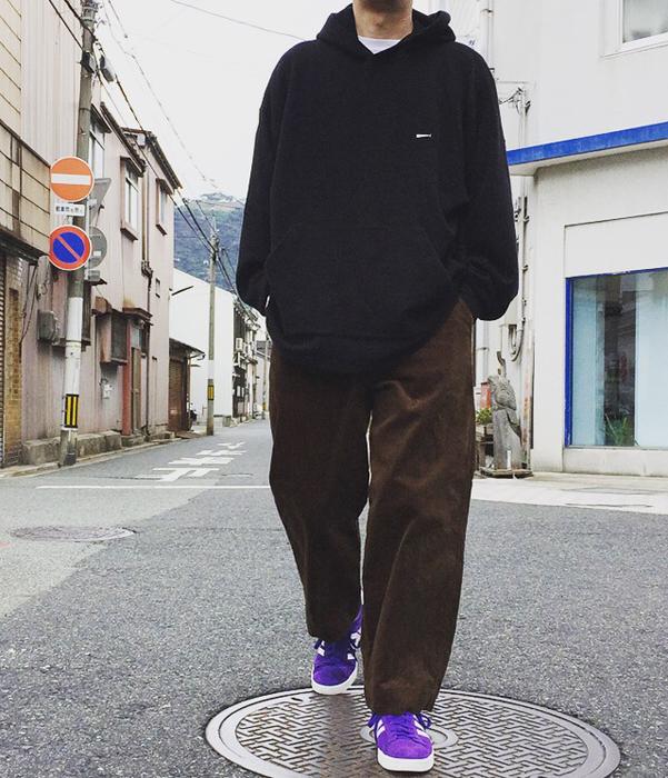 holk/WIDE CHINO CORDUROY