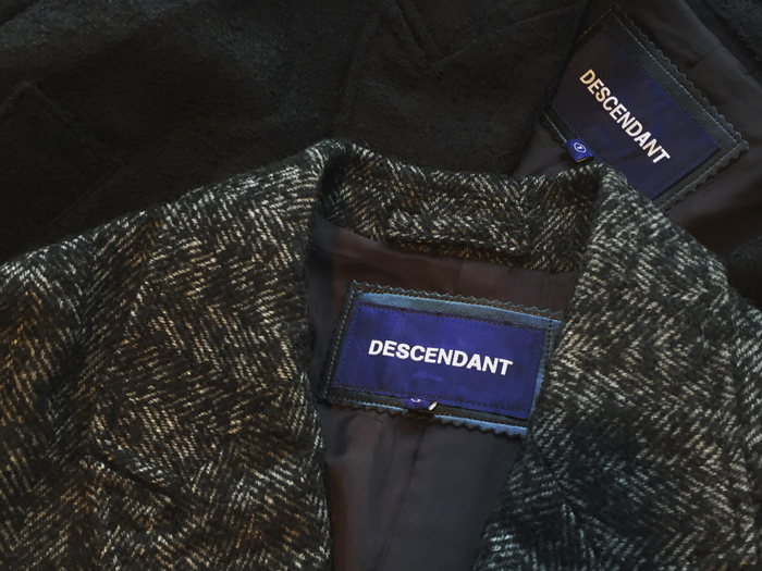 DESCENDANT/LIOYD WOOL JACKET