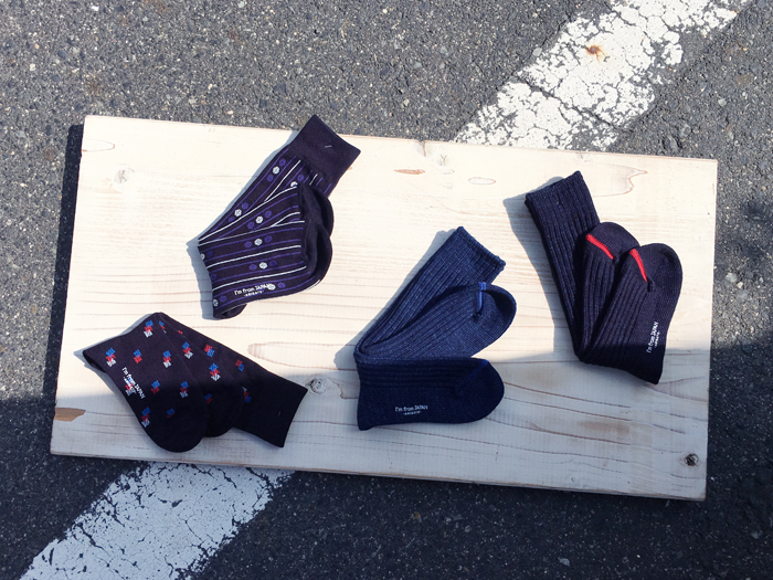 BLUE BLUE JAPAN/AUTUMN SOCKS