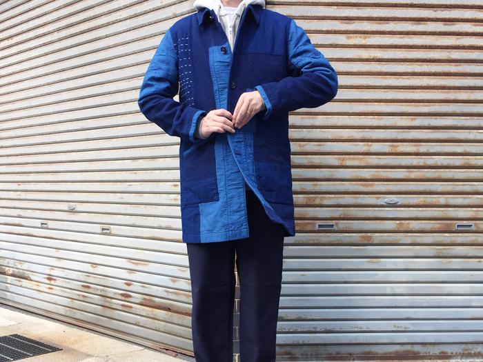 BLUE BLUE JAPAN/ホンアイサシコ ネンリンシングルコート