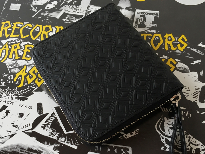 White Mountaineering/WM x PORTER MARQUETRY PATTERN EMBOSSED LEATHER WALLET