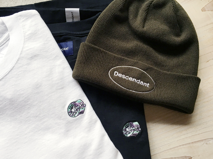 DESCENDANT/KID BEARING CREW NECK SS