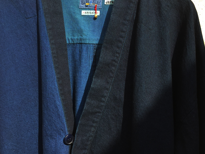 BLUE BLUE JAPAN/ライトデニム テゾメカタミガワリGハオリ