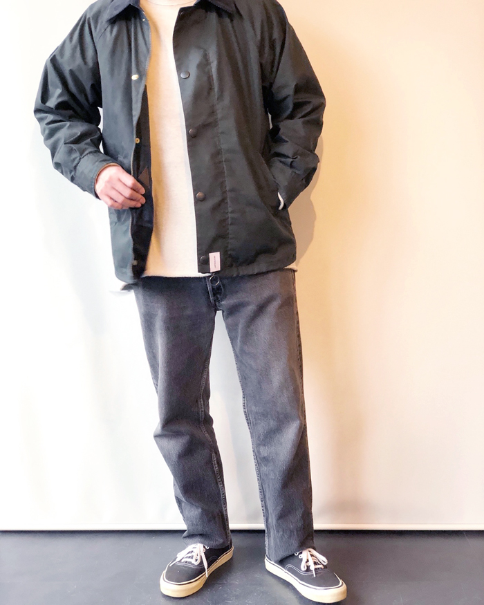 DESCENDANT/GAME SOUTIEN COLLAR COAT