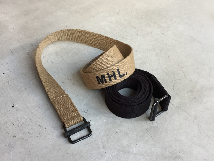 MHL./NARROW MILITARY BELT
