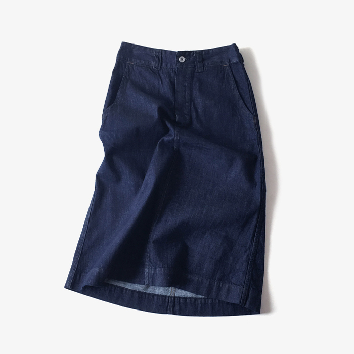 MHL./CANTON DENIM SKIRT