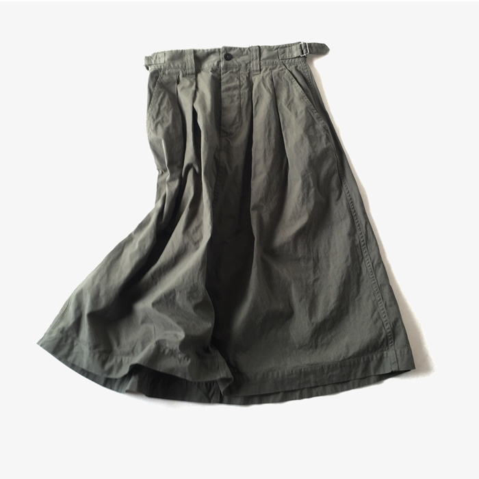MHL./GARMENT DYE SKIRT