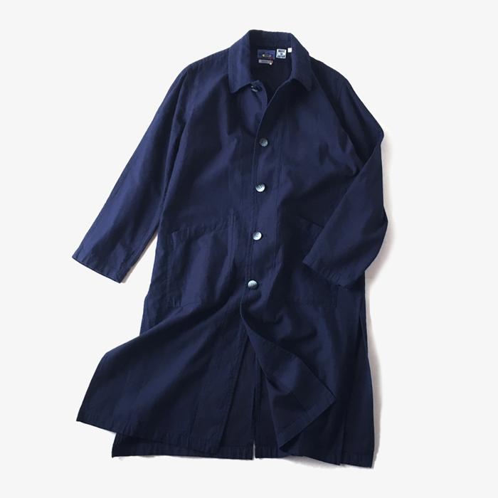 BLUE BLUE JAPAN/メンアサバックチノ カウボーイ ダスターコート