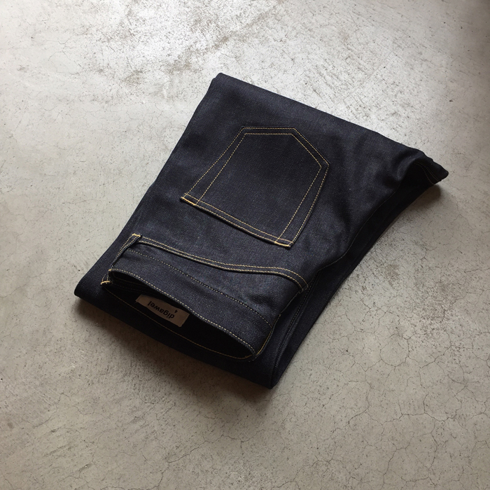 DIGAWEL/STRAIGHT DENIM PANTS