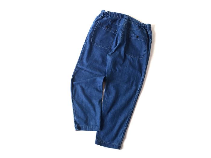 BLUE BLUE/ホローファイバーデニム ライトクロップドイージーパンツ