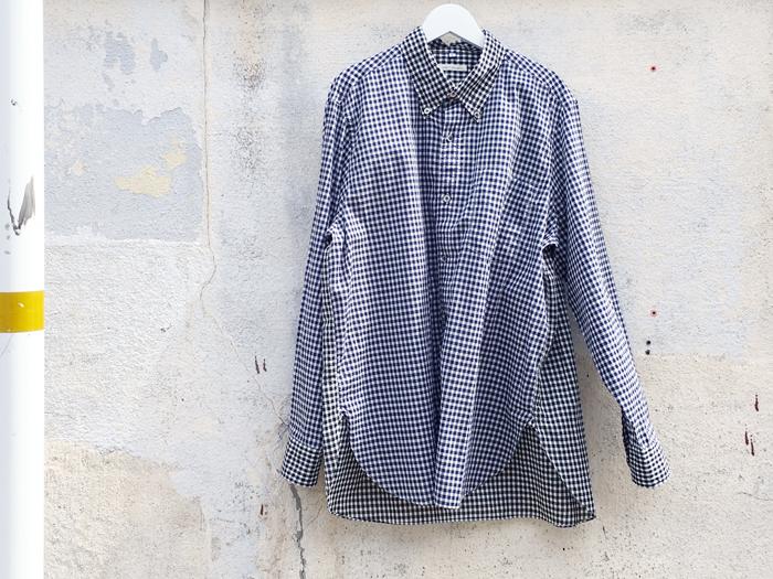 San Francisco/スイスコットン ギンガムチェックシャツ