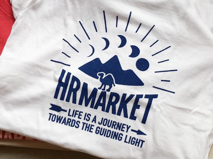 HOLLYWOOD RANCH MARKET/キャメルムーンTシャツ