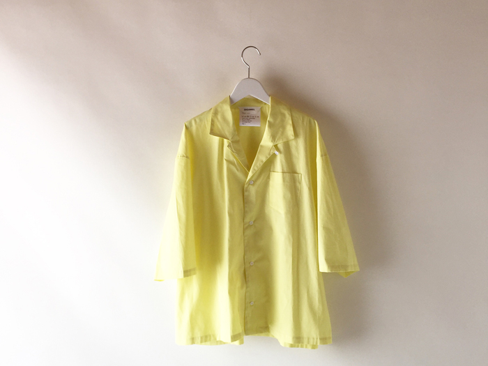 DIGAWEL/CAMP COLLAR S/S SHIRT