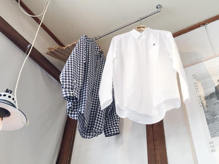 HOLLYWOOD RANCH MARKET/コットンリネンカディー ビッグサイズボタンダウンシャツ