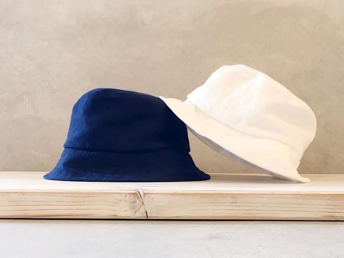 BLUE BLUE JAPAN/メンアサバックチノ バケットハット