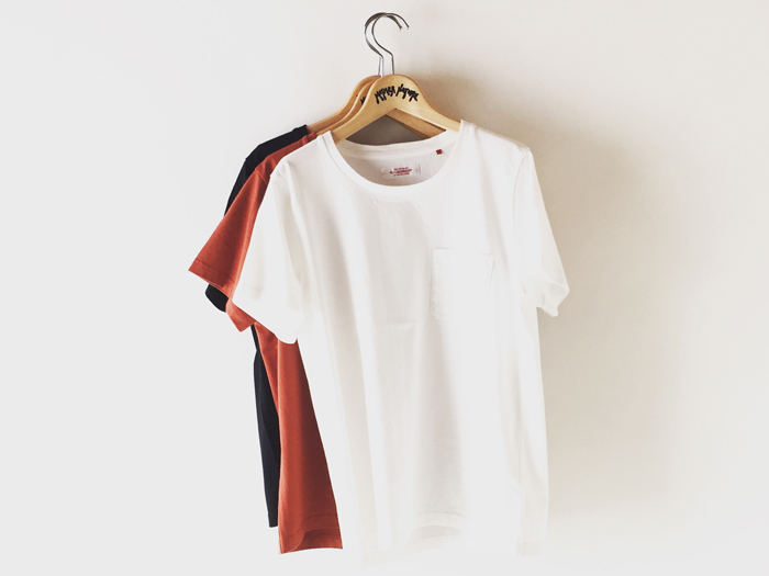 HOLLYWOOD RANCH MARKET/クラシックテンジク ポケットTシャツ ウィメンズ
