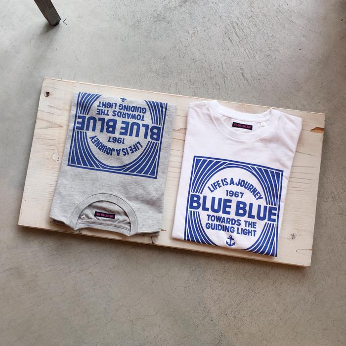 BLUE BLUE/BLUE BLUE BOX ショートスリーブ TEE