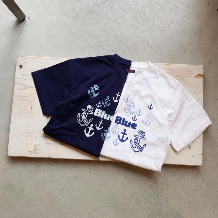 BLUE BLUE/BLUE BLUE アンカーフェスTシャツ