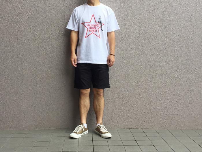 HOLLYWOOD RANCH MARKET/MARILYN MONROE・HRM スターTシャツ
