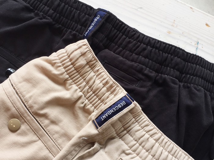 DESCENDANT/SHORE 06 OX SHORTS