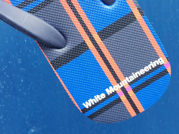 White Mountaineering/WM × HAYN LARGE CHECK  Beach Sandal
